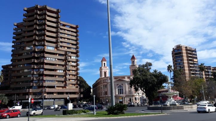 Pagoda en la Alameda de Valencia.